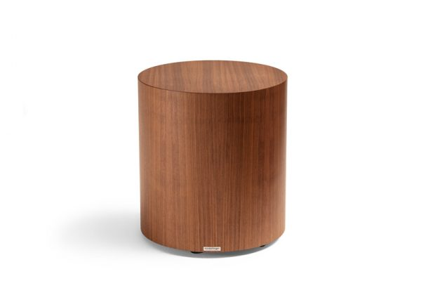 Holztisch rund, amerikanisch Nussbaum Tisch, runder Designtisch